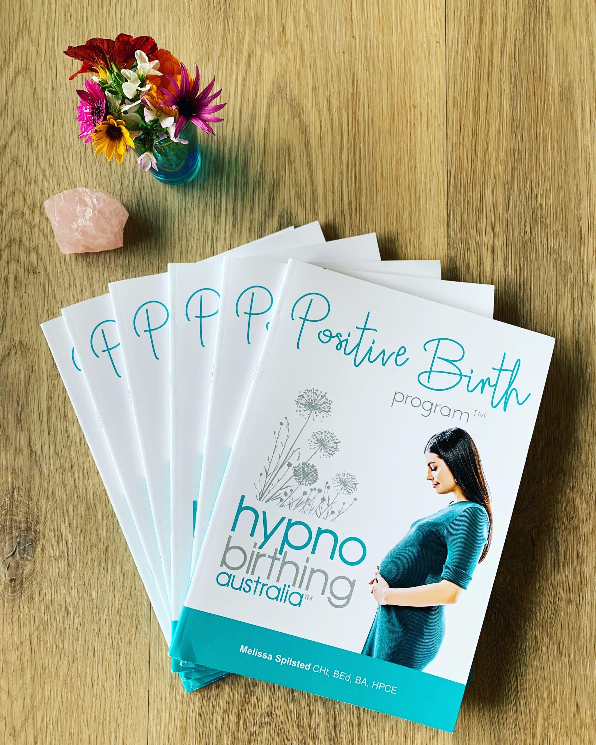 Hypnobirthing Australia program booklet
