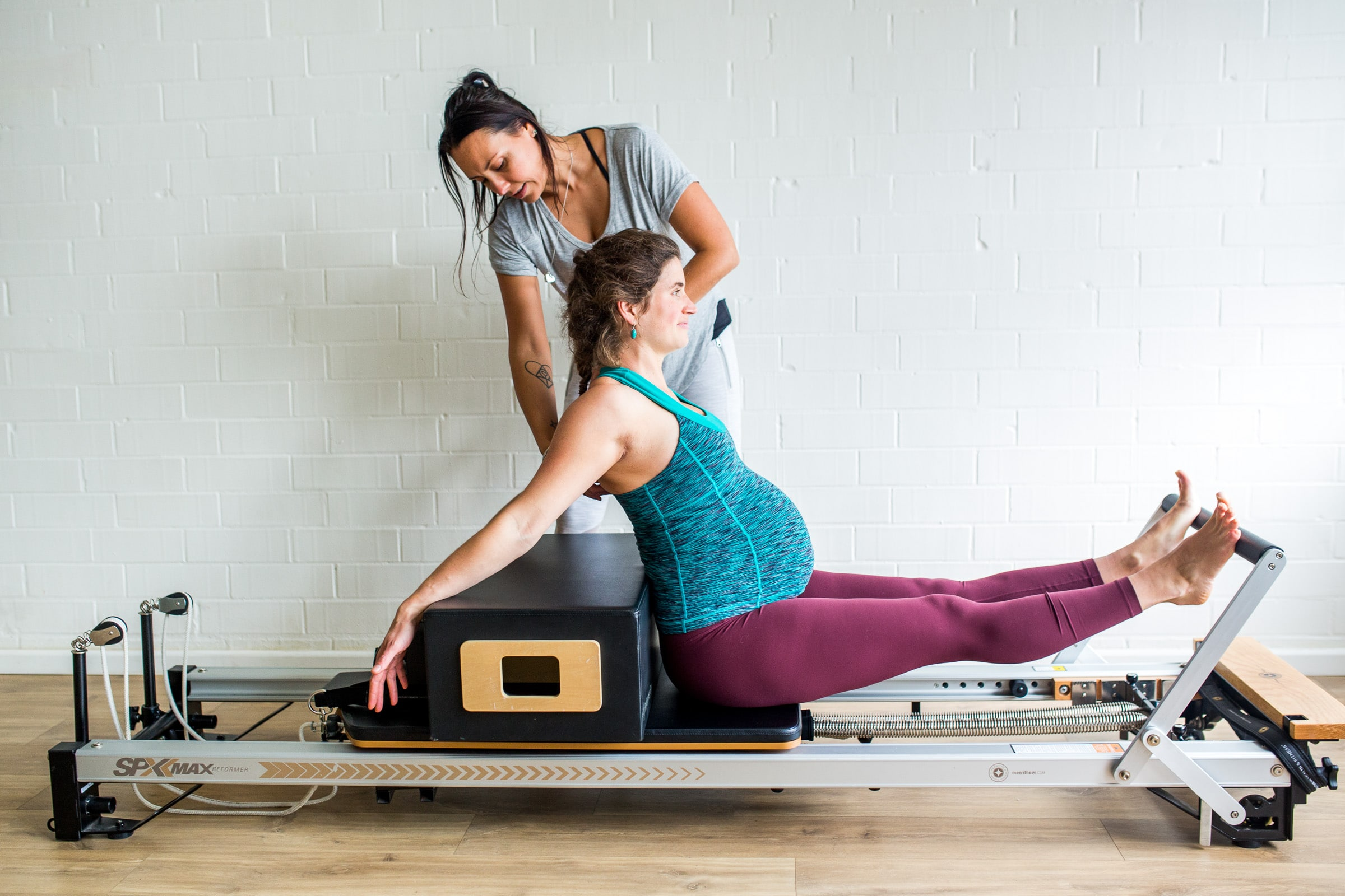 Enjoy modified and safe pilates classes during your pregnancy, and still get a workout!